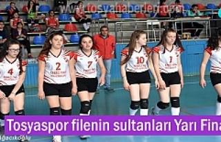 Tosyaspor Voleybol takımı filenin sultanları Yarı...