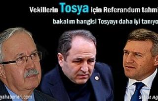 AK Parti Kastamonu Milletvekillerinin Tosya tahmini...