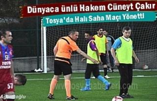 Dünyaca Ünlü Hakem Cüneyt Çakır Tosya'da Halı...
