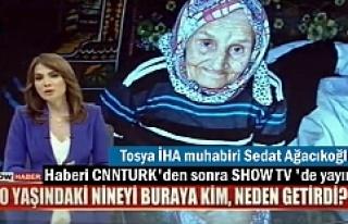 Haberimiz SHOW TV ana haberlerde yayınlandı