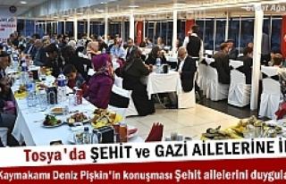 Kastamonu Valisi ve Tosya Kaymakamı ilk İftarda...