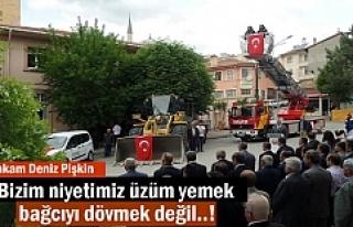 Tosya Belediyesi Hizmet Araçları için Tören düzenlendi