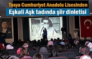 Tosya Cumhuriyet Anadolu Lisesinden '' Eşkali...