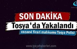 Tosya'da Mahkum Asayiş Ekipleri tarafından...