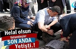 Tosya 'da Vatandaşlar Yaşlı Adamın hayatını...