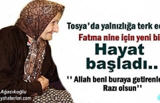 Tosya'da yalnızlığa Terk Edilen Fatma Nine...