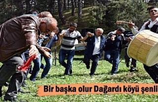 Tosya Dağardı Köyü Yayla Şenliklerinde renkli...