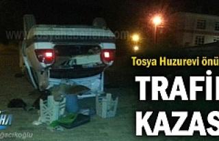 Tosya Huzurevi önünde Trafik Kazası