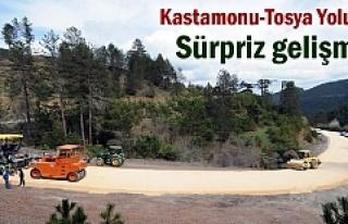 Tosya - Kastamonu yolunda Sürpriz gelişme