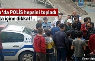Tosya Polisi Kural Tanımaz Motorculara Göz Açtırmıyor