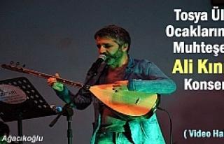 Tosya Ülkü Ocaklarından Muhteşem Ali Kınık Konseri