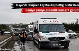 Tosya'da 3 kişinin öldüğü kazanın Güvenlik...