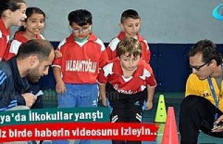 Tosya'da İlkokullar arası Fiziksel Etkinlik Oyunları...