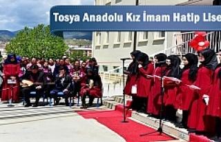 Tosya'da Kız Anadolu İmam Hatip Lisesi Tanıtımı