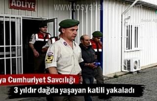 3 yıldır aranan Cinayet Zanlısı Tosya'da yakalandı...