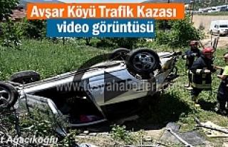 Tosya Avşar Köyü Trafik Kazasında Şok Görüntüler