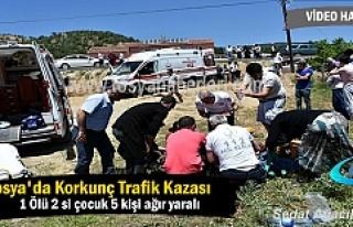 Tosya Avşar Köyünde korkun Trafik Kazası Ölü...