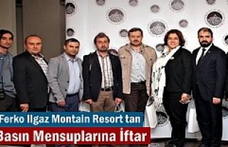 Tosya Basın Mensupları Ferko Ilgaz Mountain Hotel&Resort'e...