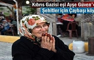 Tosya Çaybaşı Köyünde Kıbrıs Gazisi Eşi Ayşe...