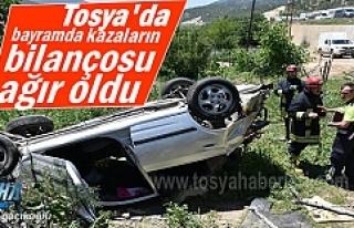 Tosya'da Bayram Tatilinin Bilançosu ağır oldu