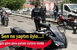 TOSYA'DA MOTOSİKLET SÜRÜCÜLERİ KURALLARA...