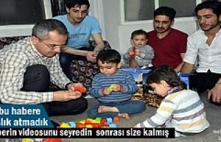 Tosya Kaymakamı Suriyeli ailenin İftar sofrasına...
