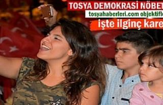 15 Temmuz Destanı Kutlamalarında Tosya'dan...