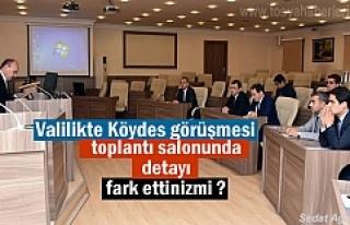 Kastamonu Valilik Toplantısında KÖYDES görüşüldü