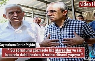 Kaymakam Deniz Pişkin'den Çeltik üreticilerine...