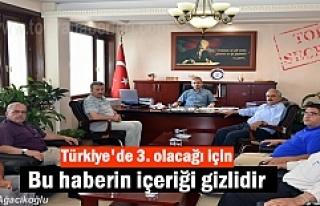 Tosya'da Pirinç İstişaret heyetiı özel gündemle...