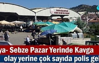 Tosya Sebze Pazarında Kavga Meydana geldi