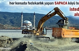 Tosya'da Sapaca köyüne Alt Geçit yapılıyor