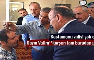 Vali Yaşar Karadeniz Gazi Fırat Zorba'yı ziyaret...