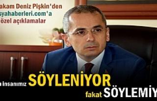 Tosya Kaymakamı Deniz Pişkin'den tosyahaberleri.com...