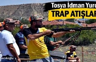 Tosya'da 350 Sporcunun katıldığı Trap atışları...