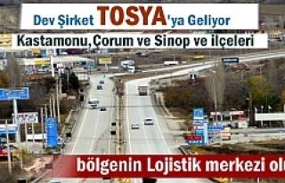 Dev Şirket Tosya'da Bölgenin En Büyük Dağıtım...