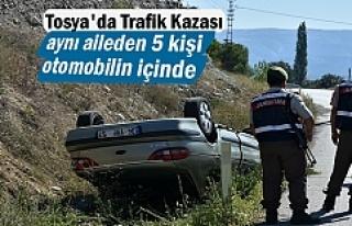 Tosya'da Trafik Kazasında aynı aileden 5 kişi