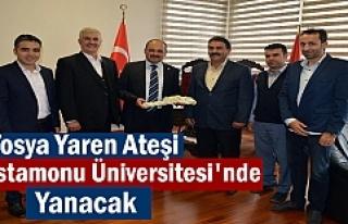 Tosya Yaren Ocağı'nın ateşi Kastamonu Üniversitesi'nde...