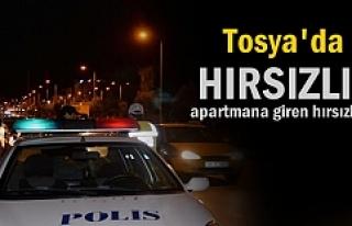 Tosya'da akşam saatlerinde Hırsızlık olayı