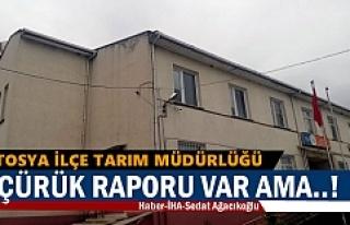 TOSYA'NIN EN ÇÜRÜK BİNASI YIKILMA TEHLİKESİ...