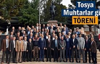 Tosya'da 19 Ekim Muhtarlar Günü Kutlandı