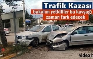 Tosya'da Meydana gelen Trafik kazasında 3 kişi...