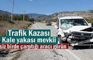 Tosya'da Trafik Kazasında 3 kişi yaralandı (VİDEO...