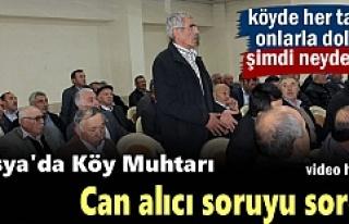 Köy Muhtarları '' Köyde her taraf onlarla...