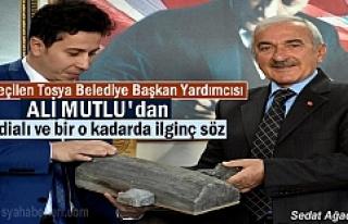 Tosya Belediye Başkan Yardımcısı Ali Mutlu'dan...