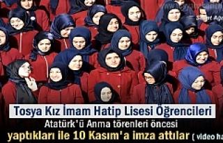 TOSYA KIZ İMAM HATİP LİSESİ ÖĞRENCİLERİ 10...