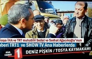TOSYA KÖMÜR OCAĞI HABERİMİZ TRT1 VE SHOW TV ANA...
