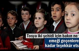 Tosya Şehidlerinin adını okul ve kütüphanede...