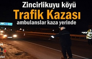 Tosya - Zincirlikuyu köyü Trafik Kazası