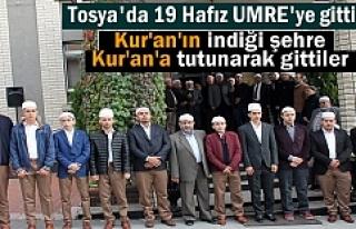 Tosya'da 19 Genç Hafız Hayırseverler tarafından...